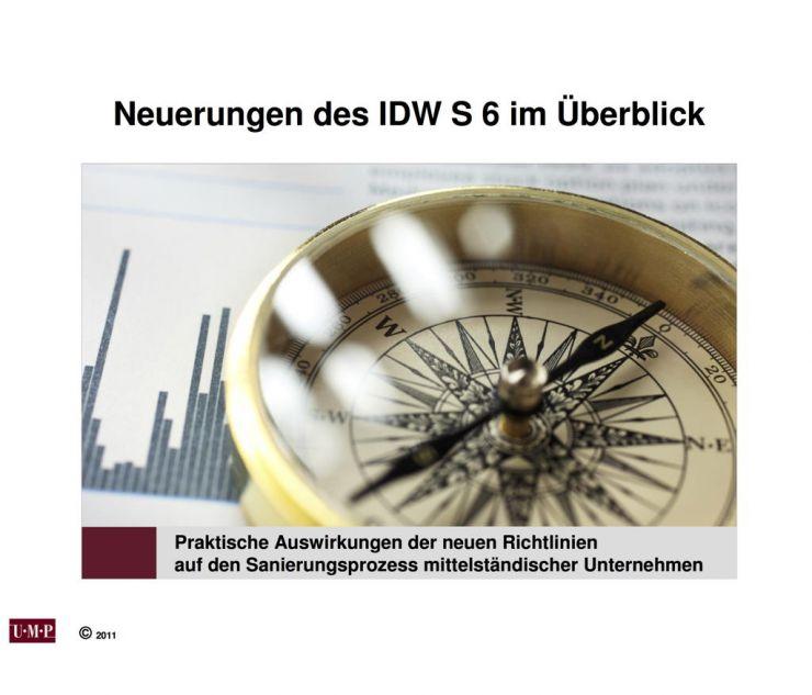 Neuerungen IDW S 6