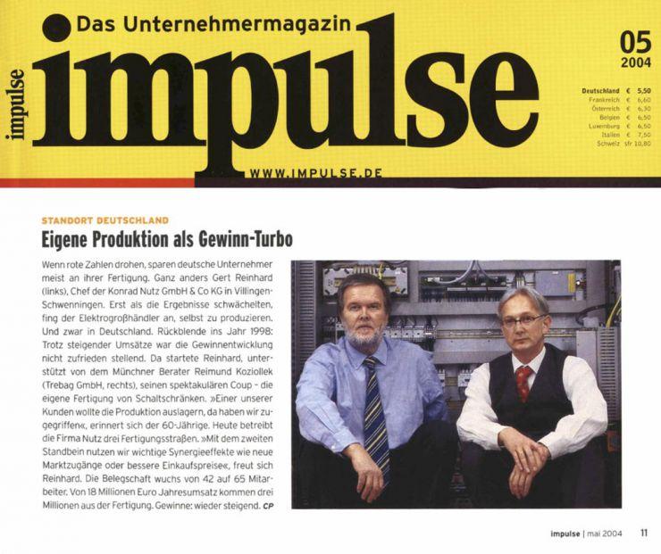 Reimund Koziollek Presseartikel Impulse